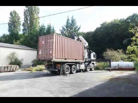 Acheter Un Container Pour Construire Sa Maison Ou Stocker Cubner
