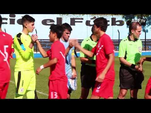 Sub-15   Uruguay venció a Perú 2 a 1 en Belverdere de cara al Sudamericano de Argentina 2017