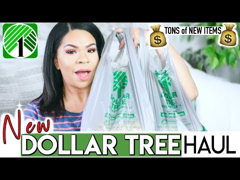 DOLLAR TREE HAUL TONS OF NEW FINDS! What's NEW at the DOLLAR STORE 2019?!?! Sensational Finds