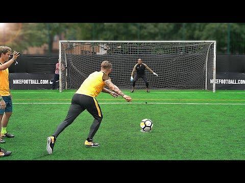 freekickerz vs Sergio Ramos - Penalty Football Challenge