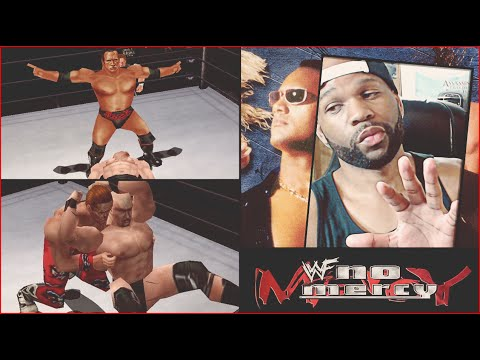 The Rock Bottom!  WWF No Mercy N64 Ladder Match! (Old School Games)