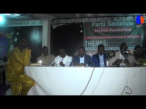 ABDOU MBAW À LA CONFERENCE LEETING PARTIE