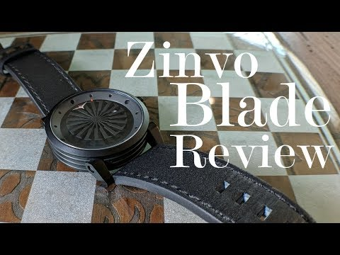 Modern Art on a Leather Strap: A review of the Zinvo Blade W