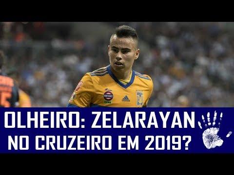 OLHEIRO: LUCAS ZELARAYAN, DO TIGRES, NO CRUZEIRO EM 2019?