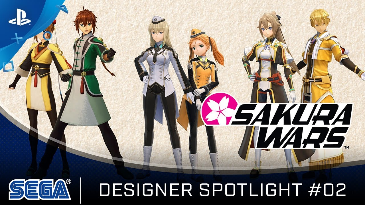 Sakura Wars - Designer Spotlight #02 | PS4