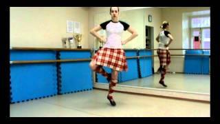 шотландские танцы: техника. 1 выпуск