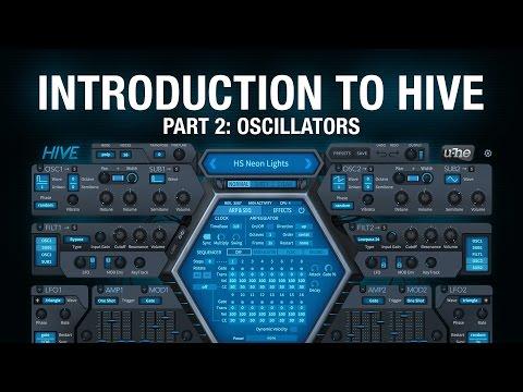 Introduction to Hive - 2 Oscillators