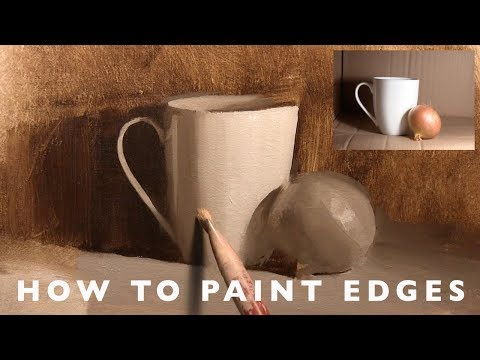 Oil Painting with Alex Tzavaras - How to Paint Edges
