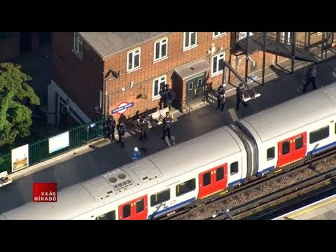 Robbantás volt a londoni metrón