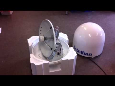Intellian i4 Marine TV antenna