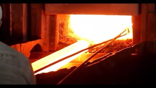 steel rolling mill process operation manufacturing of tmt bars