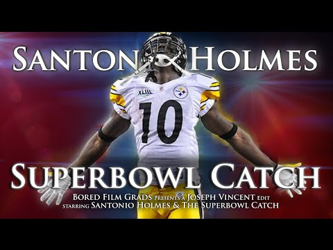 Santonio Holmes - Superbowl Winning Catch (Daily Sports Highlights)