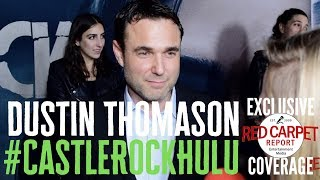 Dustin Thomason, Co-Creator interviewed at the premiere for S2 of Castle Rock on Hulu