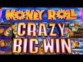 MONEY ROLL SLOT *RETRIGGER FRENZY! 46 FREE SPINS *CRAZY BIG WIN* 200X!