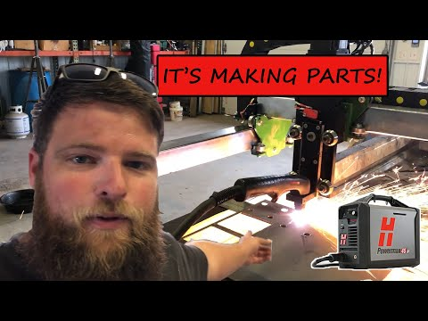 DIY CNC Plasma Table Cutting Steel | It finally cuts!