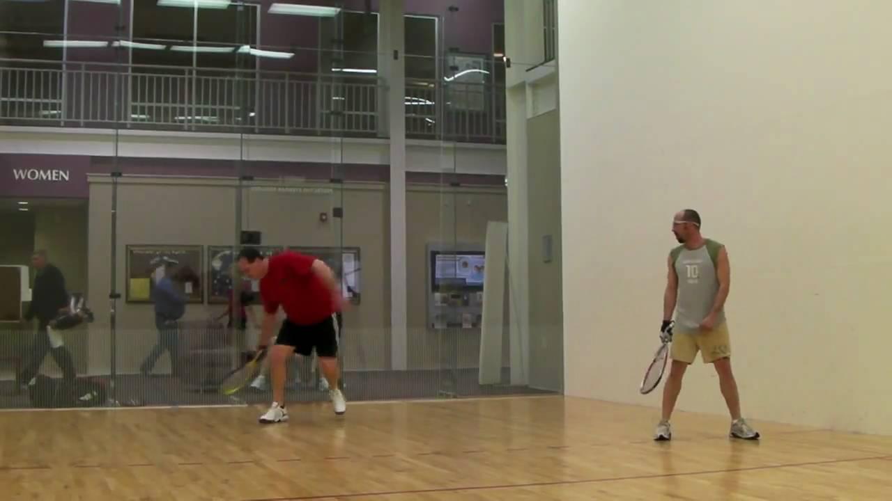 Inside Racquetball Court Youtube