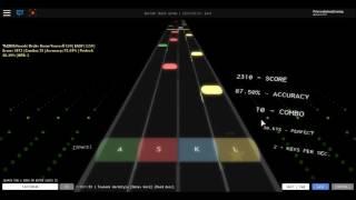ROBLOX Rhythm Track / Tsunami Hardstyle 142720946 [Score in description]
