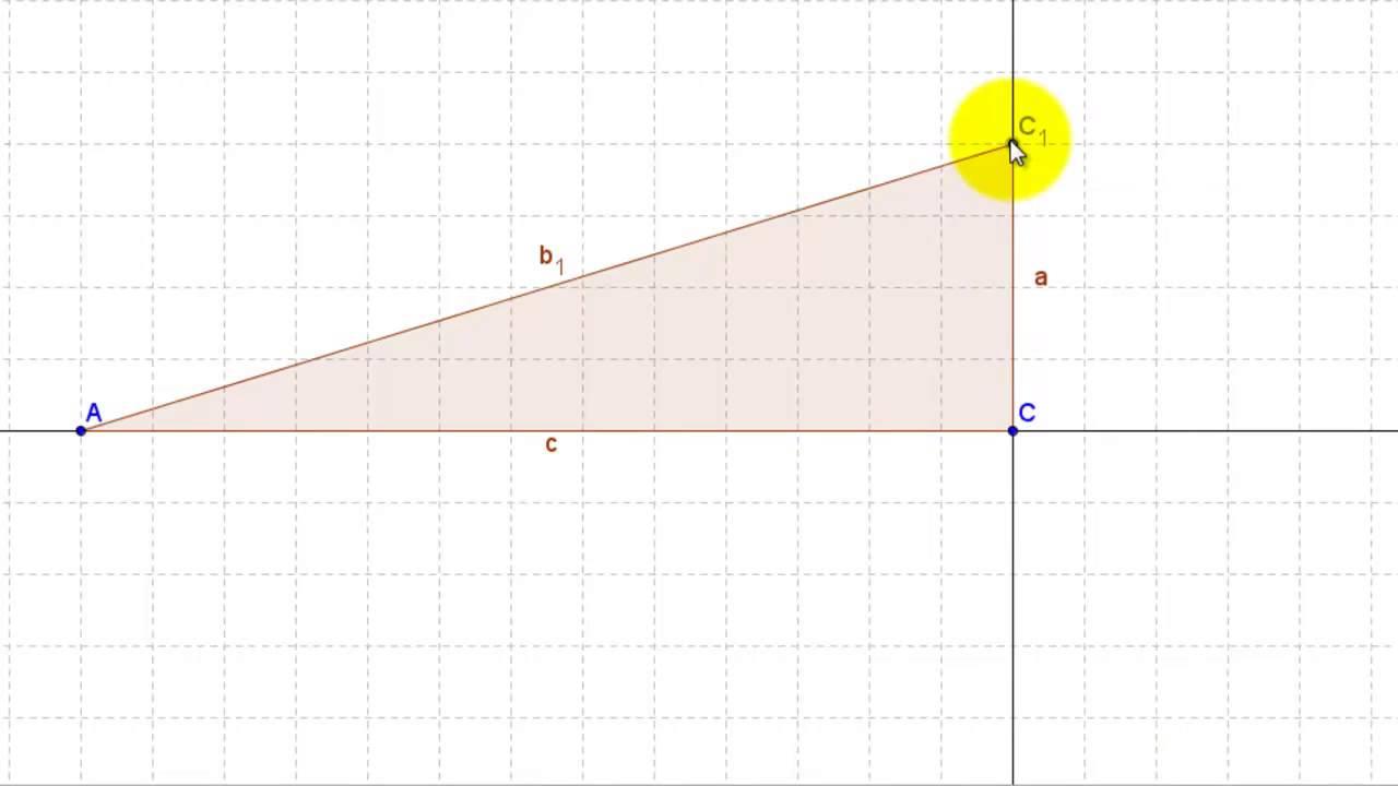 ligedannet trekanter