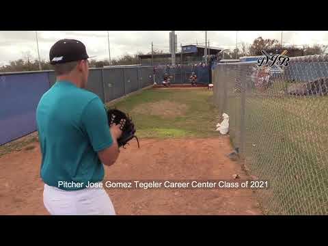 Pitcher Jose Gomez Tegeler Career Center Class of 2021