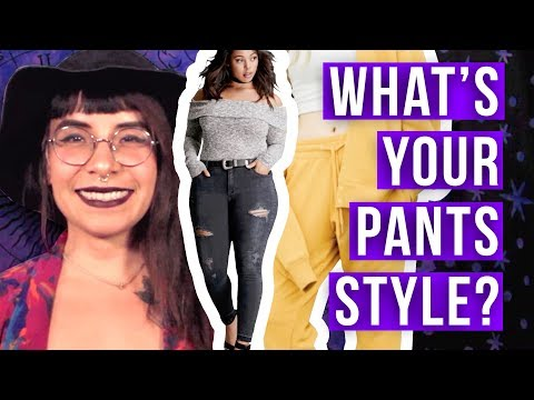 WHAT KIND OF PANTS GO WITH YOUR HOROSCOPE?! - Astrology Style // Cosmic Closet | HISSYFIT