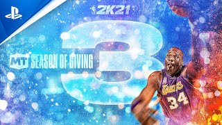 NBA 2K21 - MyTEAM Season 3: Season of Giving | PS5, PS4