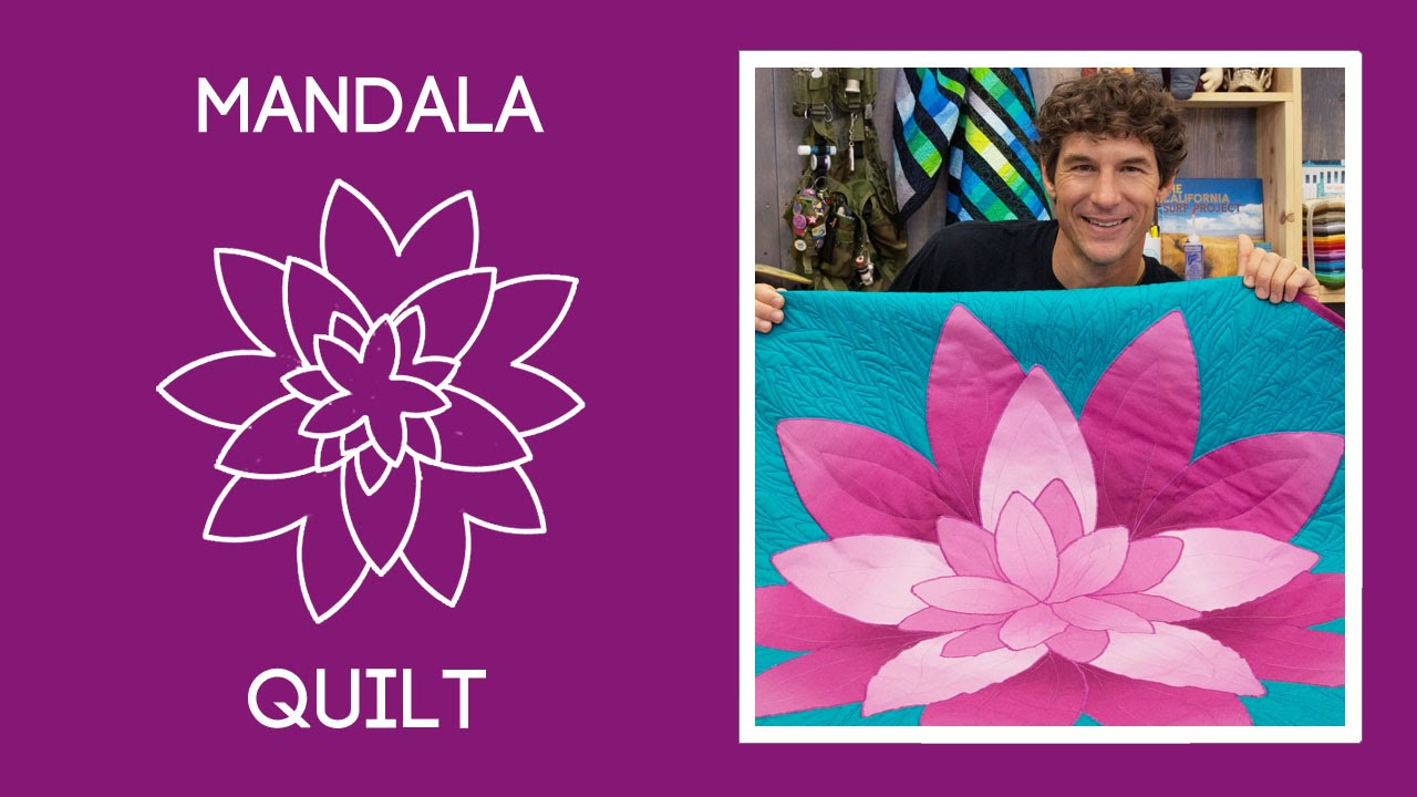 Make a Simple Mandala Quilt with Rob!