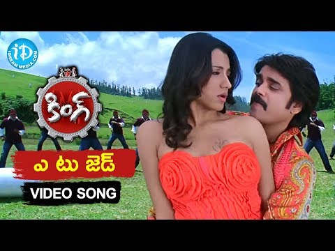 A to Z  Song  King Telugu Movie  Nagarjuna Akkineni  Trisha Krishnan  Srihari