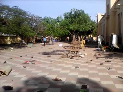 Kano Mosque After Attack