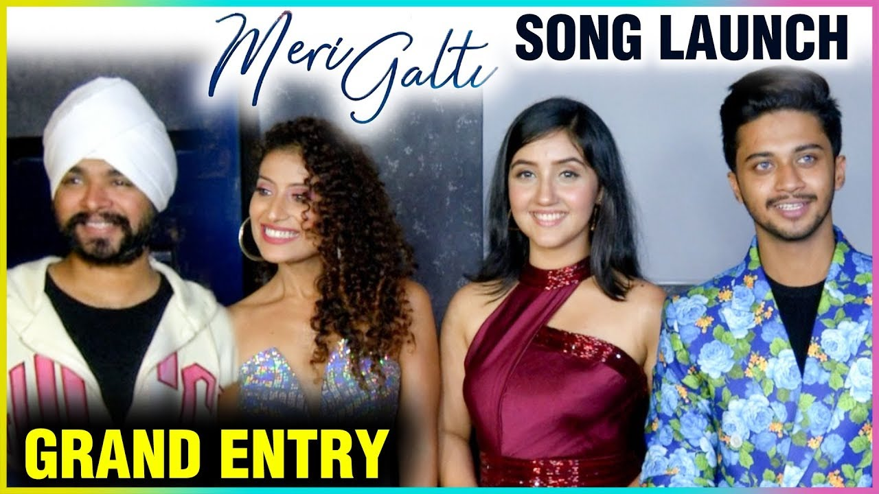 Hasnain Khan & Ashnoor Kaur GRAND ENTRY At Meri Galti Song Launch | Ramji Gulati, Ambili Menon