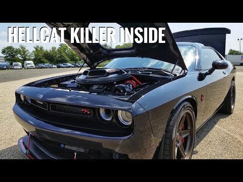 The First Ever Procharged Challenger Scat Pack Driven By A Hellcat Guy