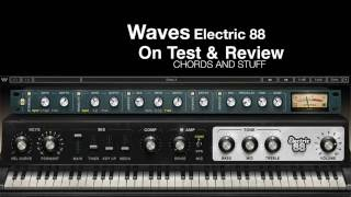 Waves Electric 88 Rhode keyboard on Test and Review