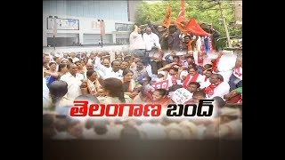 RTC Bandh Peacefully Ends Across Telengana State
