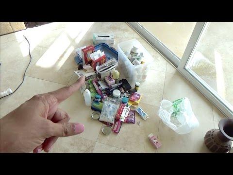 DECLUTTERING Medication 🏥 1st Aid (Household Komono)~TjsWays