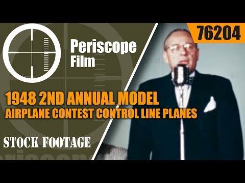 1948 2ND ANNUAL MODEL AIRPLANE CONTEST CONTROL LINE PLANES  DETROIT MICHIGAN 76204