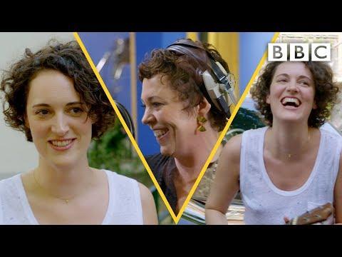 Phoebe Waller-Bridge slays the ukulele on Olivia Colman's Portishead cover - BBC