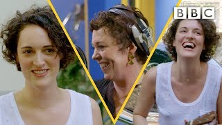 Phoebe Waller-Bridge slays the ukulele on Olivia Colman's Portishead cover - BBC
