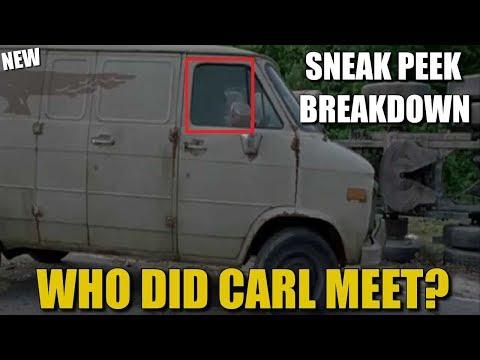 THE WALKING DEAD SEASON 8 EPISODE 1 SNEAK PEEK BREAKDOWN - WHO DID CARL MEET?