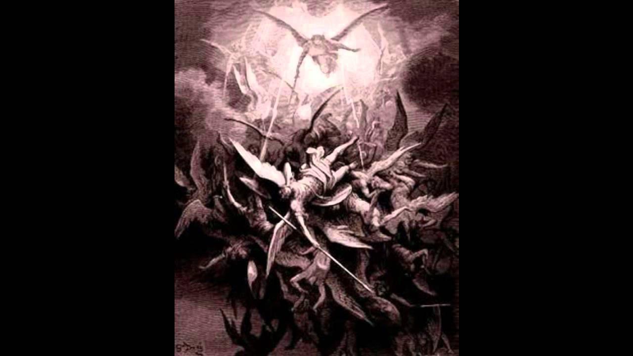 la batalla en el cielo y la separacion de los angeles