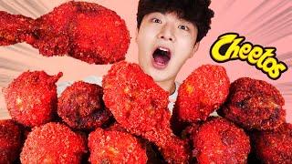 ENG SUB)Very Delicious! Handmade Hot Cheetos Chicken Eating MukbangKorean ASMR 후니 Hoony Eatingsound