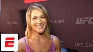 Felice Herrig says a win vs. Waterson puts her back in title contention | Ariel Helwani at UFC 229