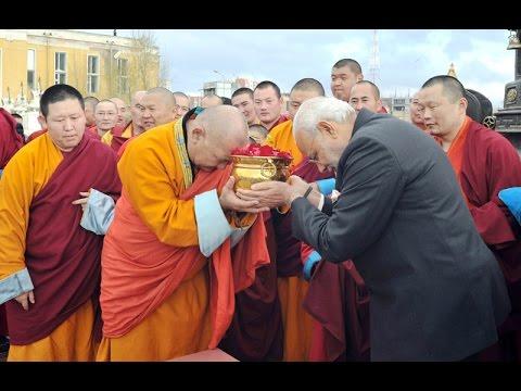 PM Modi visits the Gandan Monastery in Mongolia