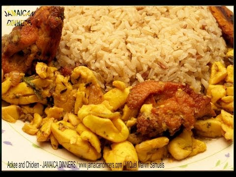 ACKEE AND CHICKEN