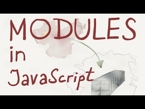 Modules, import and export / Intro to JavaScript ES6 programming, lesson 14