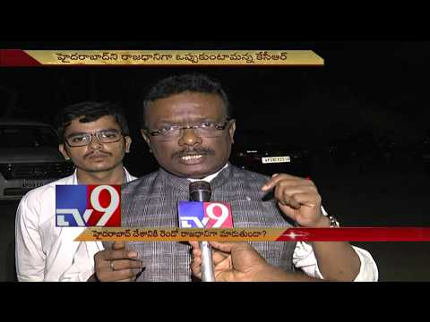 Will Hyderabad become second Capital of India? - TV9 Today