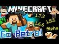 Minecraft PLAY OLD VERSIONS in New Launcher!