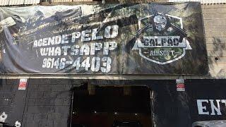 Galpão Airsoft - Labirinto Suspenso - Guarulhos - CQB Tenso