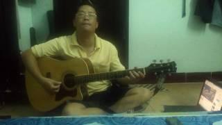 Đường xa ướt mưa - fingerstyle solo guitar