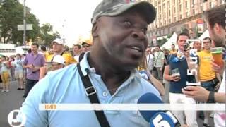 Євро-2012: українські та шведські фани мирно розійшлися