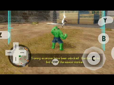 The Incredible Hulk Android Gameplay | Dolphin Emulator