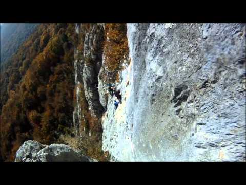 Via Ferrata - Jules Carret in St. Jean d´Arvey